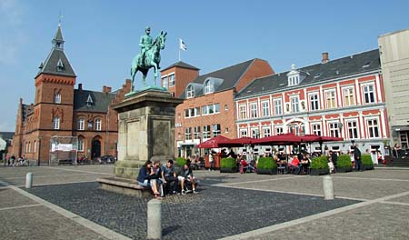 Esbjerg's main square